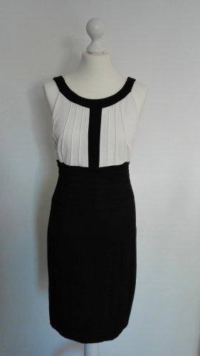 Apanage Kleid in schwarz weiß Größe 36