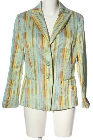 Apanage Blazer court motif abstrait style mouillé