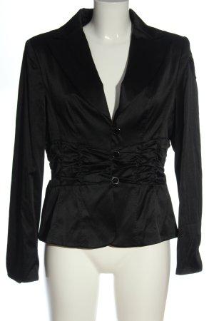 Apanage Kurz-Blazer schwarz Elegant