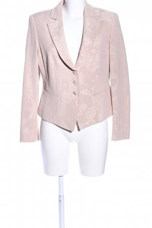Apanage Short Blazer pink flower pattern casual look
