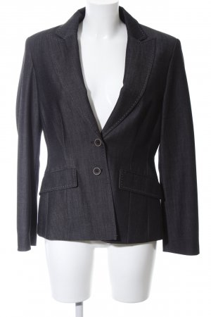 Apanage Kurz-Blazer hellgrau Casual-Look