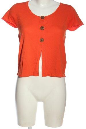 Apanage Camicetta a maniche corte arancione chiaro stile casual