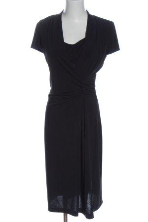 Apanage Kurzarmkleid schwarz Elegant