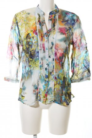 Apanage Long Sleeve Blouse abstract pattern casual look
