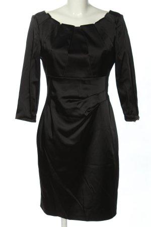 Apanage Sukienka z długim rękawem czarny Elegancki