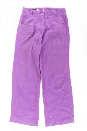Apanage Lniane spodnie fiolet-bladofiołkowy-jasny fiolet-ciemny fiolet Len