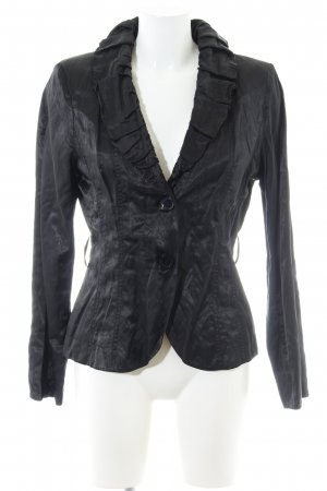 Apanage Long-Blazer schwarz Business-Look