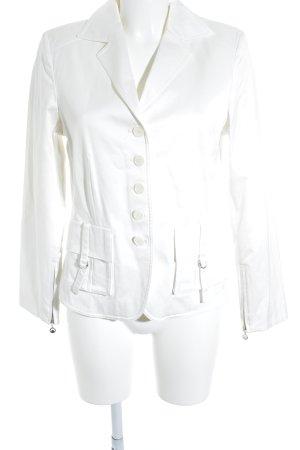 Apanage Lange blazer wit zakelijke stijl