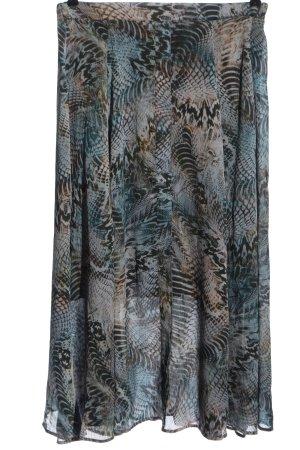 Apanage Spódnica midi Abstrakcyjny wzór W stylu casual