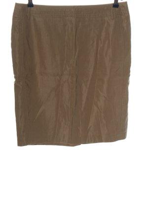 Apanage Mini-jupe brun style décontracté