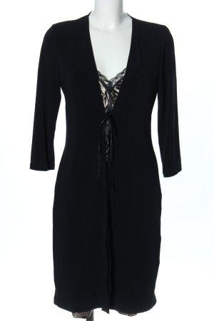 Apanage Robe de nuit noir style décontracté