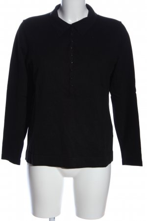 Apanage Polo-Shirt schwarz Casual-Look