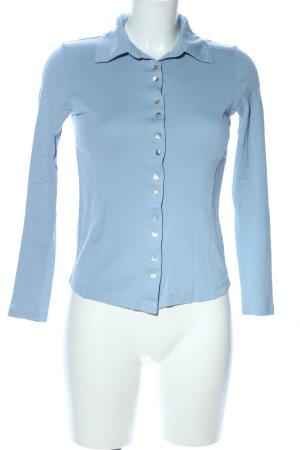 Apanage Polo bleu style décontracté