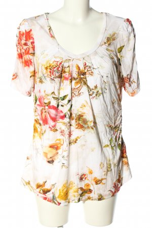Apanage Print-Shirt Allover-Druck Casual-Look