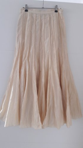 Apanage Spódnica maxi kremowy