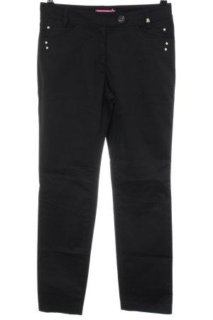 Apanage Pantalon cigarette noir style décontracté