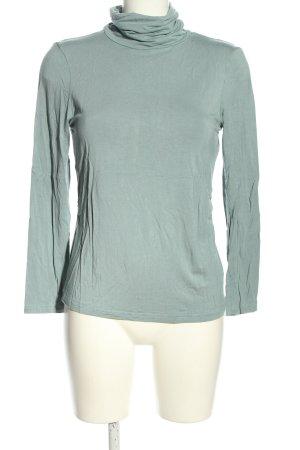 Apanage Koszulka z golfem turkusowy W stylu casual
