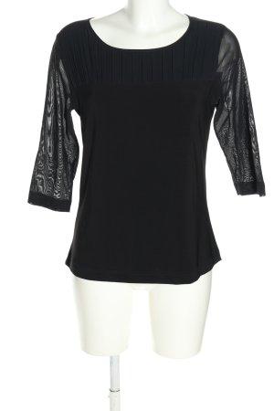 Apanage Bluzka przez głowę czarny W stylu casual