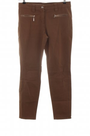 Apanage Slim Jeans bronzefarben Casual-Look