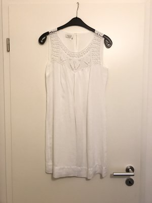 Apanage Robe trapèze blanc