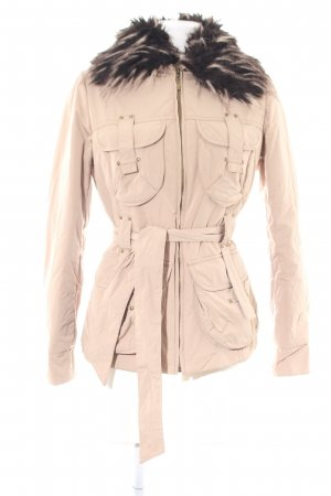 Apanage Quilted Jacket cream casual look