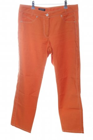 Apanage Stoffhose hellorange Casual-Look