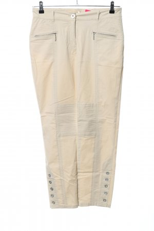 Apanage Stretchhose creme Casual-Look