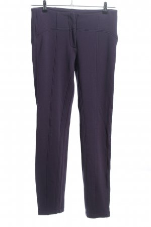Apanage Stretchhose lila Casual-Look