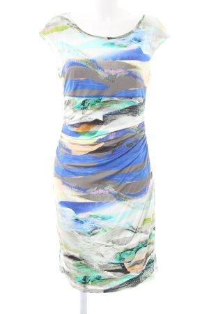 Apanage Stretchkleid abstraktes Muster extravaganter Stil