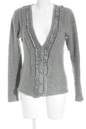 Apanage Cardigan tricotés gris élégant