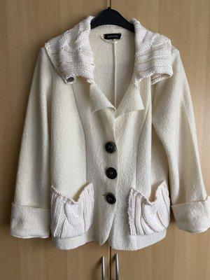 Apanage Veste en laine blanc cassé-crème