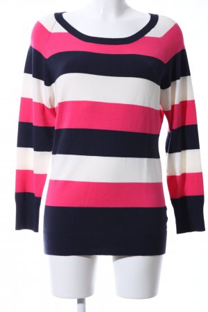 Apanage Sweat Shirt striped pattern casual look