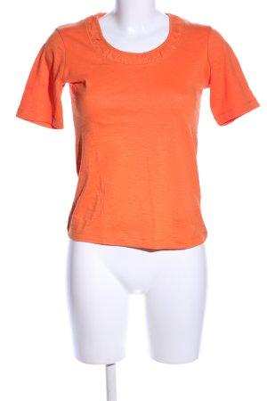 Apanage T-Shirt hellorange Casual-Look