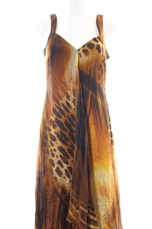 Apanage Pinafore dress leopard pattern extravagant style