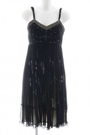 Apanage Trägerkleid schwarz Elegant