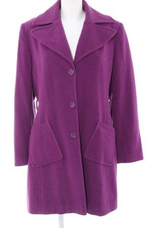Apanage Manteau mi-saison violet style d'affaires