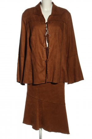 Apanage Woven Twin Set brown casual look