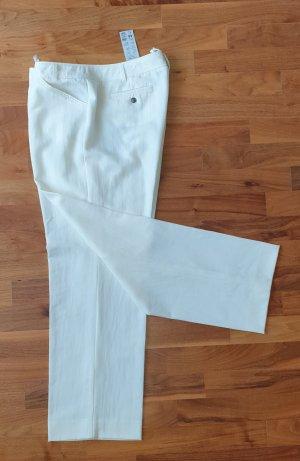 Apanage Pantalón de lana blanco-blanco puro