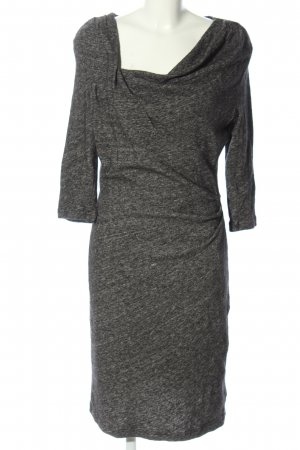 Apanage Wollkleid hellgrau meliert Casual-Look