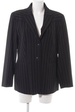 Apange Boyfriend Blazer black-gold-colored striped pattern '90s style