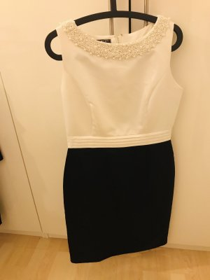 Apart Cocktail Dress black-white
