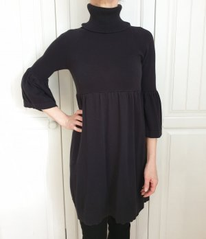 Apart 34 XS Schwarz Strickkleid Kleid Dress Pullover Pulli Strickjacke cardigan Sweater Tunika Jacke Mantel Trenchcoat