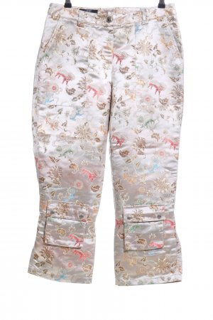 Apart 7/8 Length Trousers multicolored elegant
