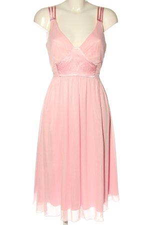Apart Avondjurk roze elegant