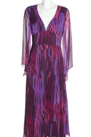 Apart Abendkleid abstraktes Muster Elegant