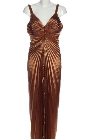 Apart Suknia wieczorowa brązowy Ekstrawagancki styl
