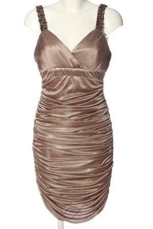 Apart Abendkleid bronzefarben Elegant