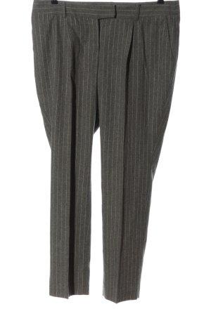 Apart Pantalon lichtgrijs volledige print zakelijke stijl