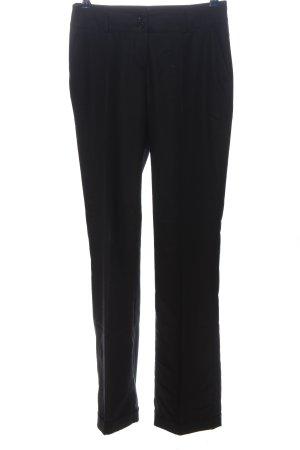 Apart Spodnie garniturowe czarny W stylu casual