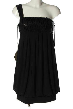 Apart Babydollkleid schwarz Elegant